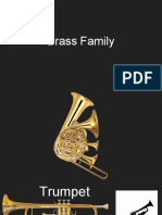 Brass Family Powerpoint