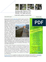 Managing Wet Weather with Green Infrastructure, December 2009 Bulletin