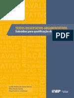 E-book - Textos Dissertativos-Argumentativos - Enem 2016