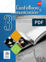 Guía Docente. 3º Medio. SM 2011