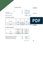 Pile Geotech Design