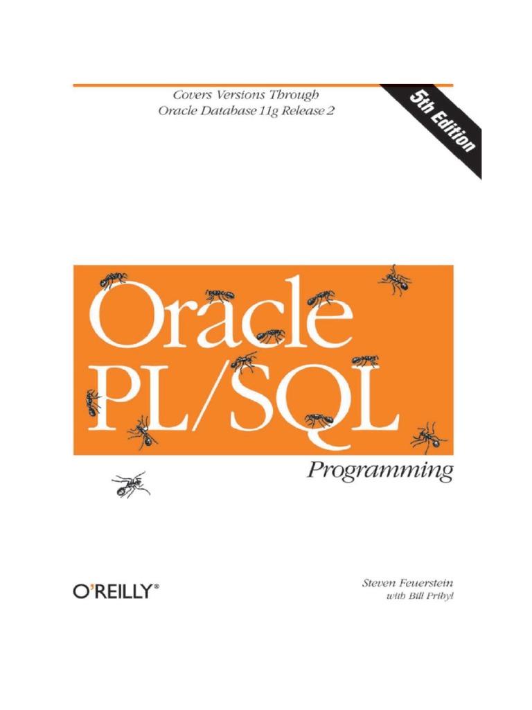PL SQL Programming