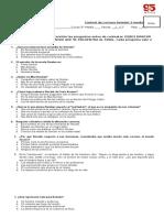 Control de Lectura Demian 3 Medio FILA B CON SOLUCIONARIO