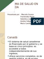 Sistema de Salud en Canada