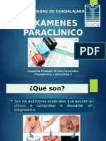 examenes paraclinicos