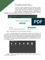 Relatorio de conexão com banco de dados PostgreSQL + Django