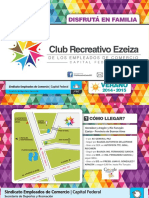 Club Recreativo Ezeiza Folleto2014-15 Low