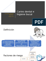 Caries Dental e Higiene Bucal
