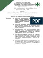 2.3.1.2 SK Kepala Puskesmas Tentang Penetapan Penanggung Jawab Program (UKM Dan UKP) Di Puskesmas