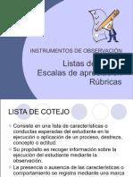 Instrumentos de Observación (1)