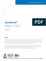 Starwind-Virtual San Free vs Paid 2017