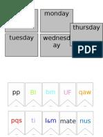 4b Timetable