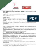 Protocolo Test Montreal