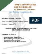 TRAB EN EQUIPO TECNICAS DE EXPRESIÓN ORAL.docx