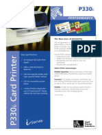 Zebra330i ID Card Printer