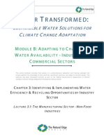 Sustainable Water Solutions for Global Warming Adaptation