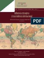 Influenciaextranjera y trascendencia internacional