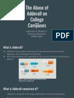 adderall abuse   1