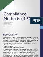 Compliance Methods of ECBC