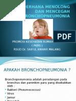 ppt promkes BRONCHOPNEUMONIA