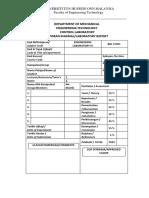 1. Labsheet Translation Mechanical System