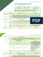 Professional Development Plan for Fall 2014