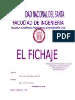 Monografia El Fichaje