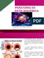 Valoración Preoperatoria en Cardiopatía Isquémica