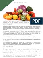 Alimentos Que Ayudan en La Producción Del Colágeno