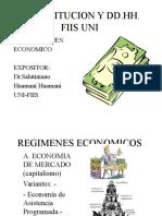 régimen economico