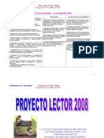 Proyecto Lector 2008