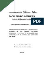 1 Captación y Tratamiento Del Gas Asociado Al Petróleo de Los Campos CuyabenoSansahuari y VHR Para Su Utilización Como Combustible en El Sistema de Generación Eléctrica