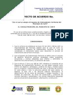 Proyecto de Acuerdo Eotcuriti