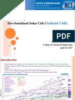 Dye-Sensitized Solar Cell (染料敏化