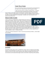 Dubai- A blog type arcticle.
