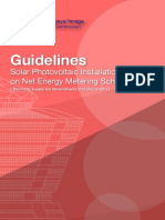 Guidelines for Solar Photovoltaic Installation on Net Energy Metering Scheme_08.11.2016