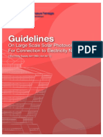 Guidelines on Large Scale Solar Photovoltaic Plant for Connection to Electricity Networks_Feb2017