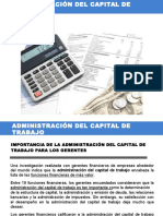 Sesion Capital de Trabajo