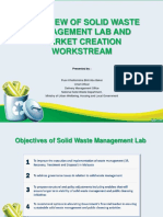 (1) Overview of Solid Waste Management Lab