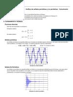 Practica 03 Grafico de Seniales Periodicas y No Periodicas Convolucion