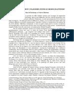 Alain (Georges) Leduc, «  Un rapprochement (via Rodin) pour le moins inattendu – Marcel Duchamp vs Octave Mirbeau »