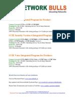 CCIE Course Details