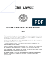 Chapter 70 Multi Mooring Systems 2010