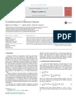 [Fiolhais, M.C.N. Et Al.] a Variational Proof of Thomson's Theorem