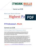 Career as CCIE for Freshers