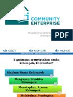PGN Batam Bisnis Komunitas - Bagaimana Menciptakan Bisnis Komunitas (Materi)