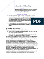 Orígenes y Fundamentos Del Coaching