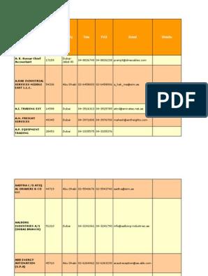 Uaeoilgasdirectorypdf Dubai Industries