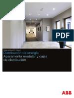 Volumen 01 ABB Catálogo Tarifa 2017 Aparamenta Modular y Cajas