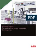 Volumen 6 ABB Catálogo Tarifa 2017 Elementos Interface y Seguridad de Maquinas